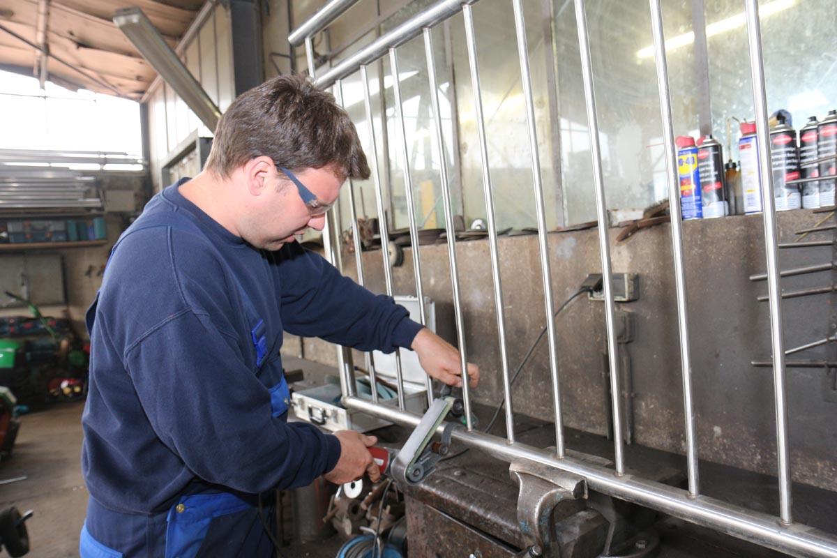 Leistungen - Landtechnischer Schmiedebetrieb Prahm